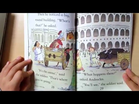Annie -Usborne#Androcles and the lion