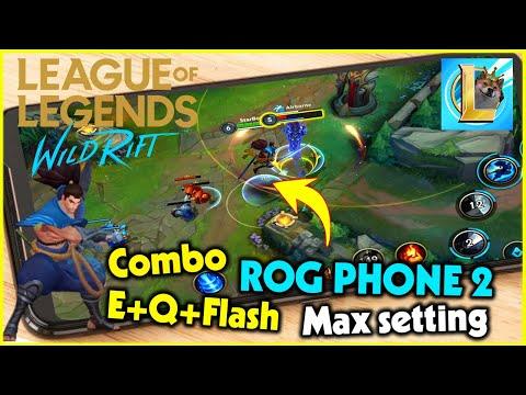 (LoL Mobile) Liên Minh Tốc Chiến Max Setting - Múa Yasuo cực dẻo Rog Phone 2 | StarBoyVN