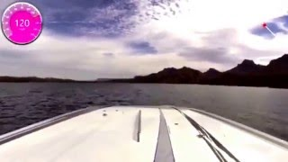 Swoop Motorsports Dial 911 Skater test session on Lake Havasu in March 2016.
