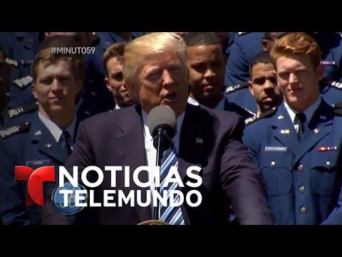Minuto 59, martes 02 de mayo del 2017 | Noticiero | Noticias Telemundo