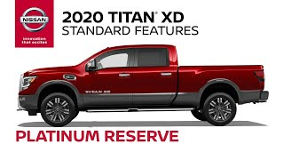 homepage tile video photo for 2020 Nissan Titan XD Platinum Reserve Walkaround & Review
