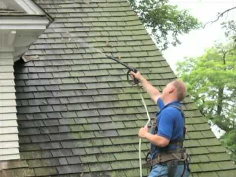 How to get rid of moss on roof with Moss Buster® & How to get rid of moss on roof with Moss Buster® - YouTube memphite.com