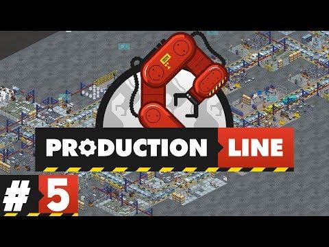Production Line - PART #5 - Factory Strategy Management