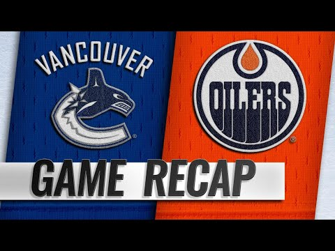 Rattie's hat trick powers Oilers past Canucks, 6-0