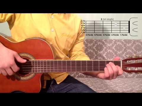 E Mi Majör Akoru Nasıl Basılır Gitar Dersleri