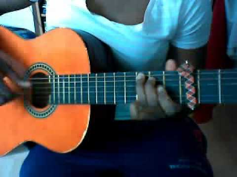 African Guitar picking style