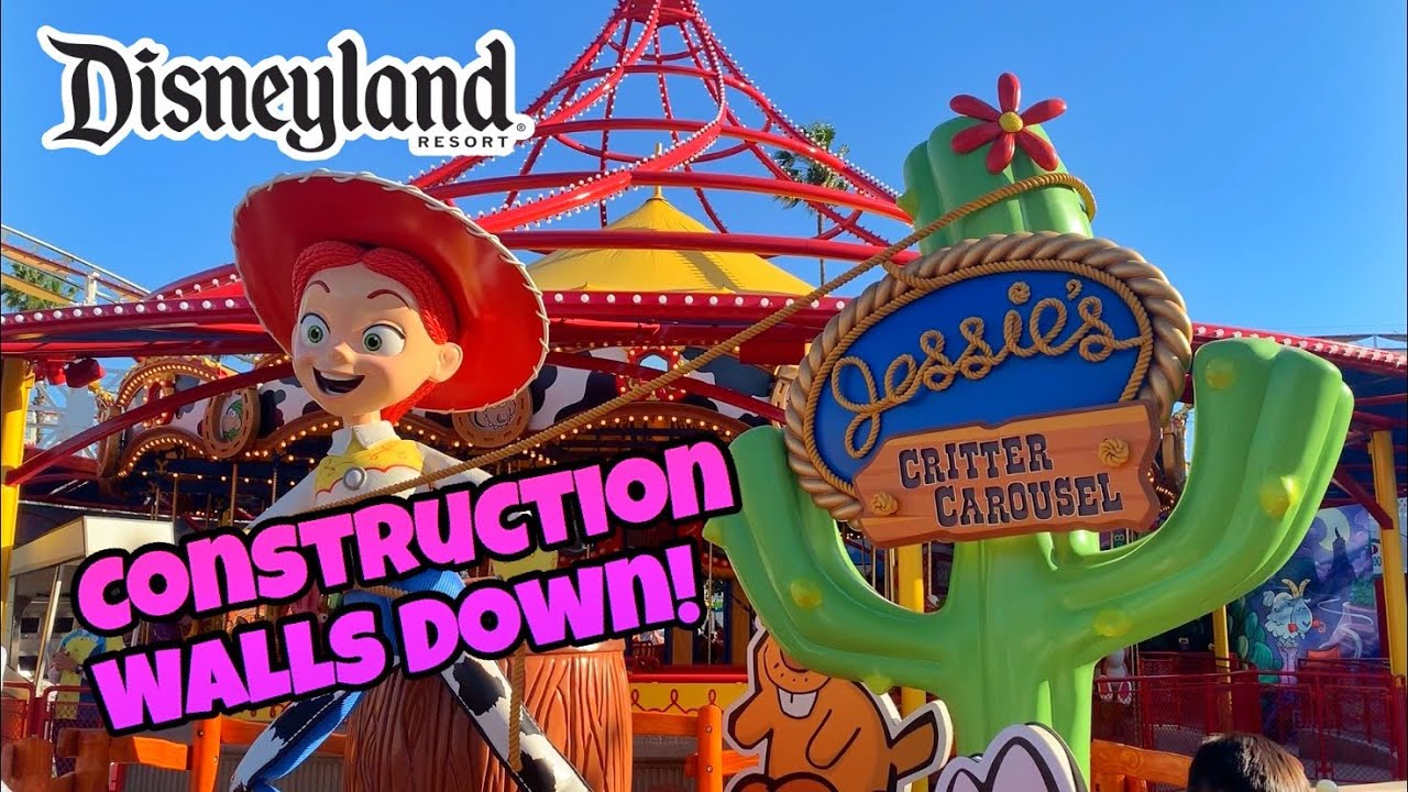 Jessie's Critter Carousel & More | Disneyland Resort Construction 2019
