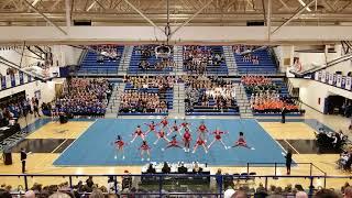 Palatine high school cheer jv 2019