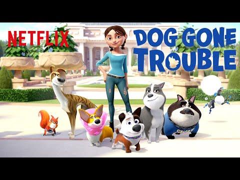 Dog Gone Trouble Trailer 🐶 Netflix Futures