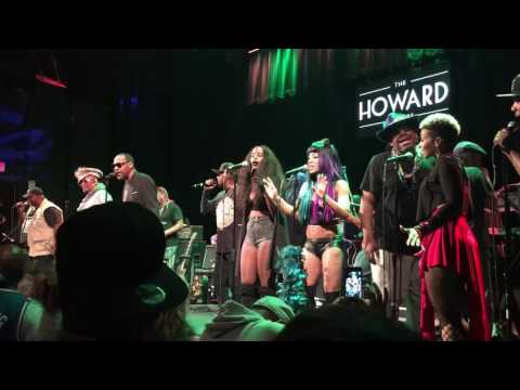 George Clinton and the PFunk All Stars @ Howard Theater, Washington DC 2-23-17