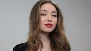 Экспресс-макияж на Новый год: Юлия Маргулис