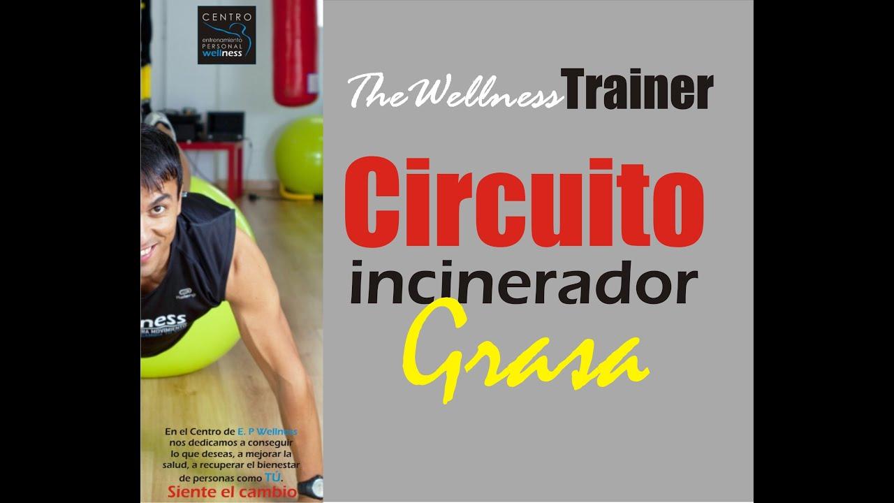 Circuito Quema Grasa En Casa : Vídeo circuito de ejercicios en casa para quemar grasa y
