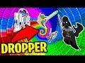 My Girlfriend is the BEST at Minecraft Droppers! (Star Wars Movie Edition!)
