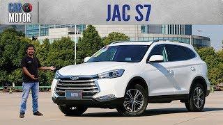 JAC S7 - Promete lujo y tecnología