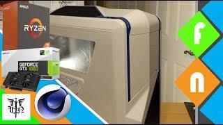 Building a Budget 3D Modeling/Animation PC - Ryzen 7 1700 +  GTX1060