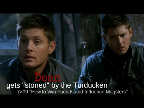 Dean gets stoned by the Turducken | Supernatural | 7×09