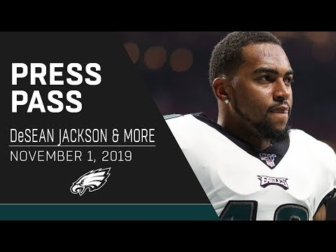 DeSean Jackson Plans To Play Vs. Bears | Eagles Press Pass
