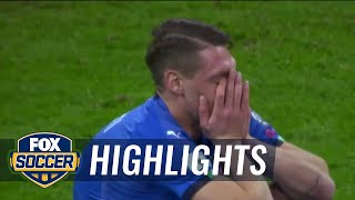 Italy vs. Sweden | 2017 World Cup Qualifying Highlights