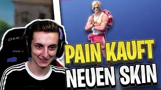 PAIN BUYS NEW SKIN   LPMASSIVE Finds Trick Against Case Damage!   Fortnite Highlights English