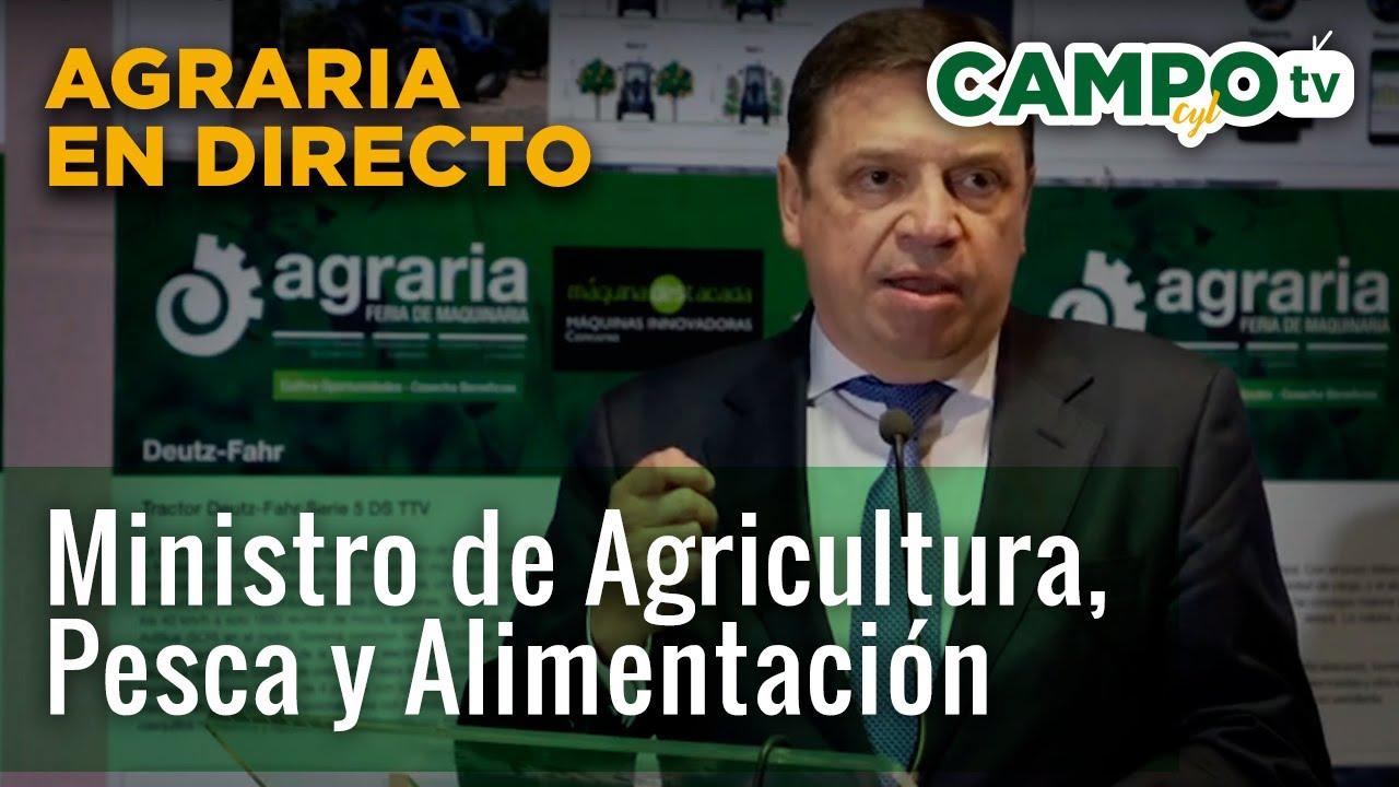 """Luis Planas: """"Agrotecnológica representa la digitalización de la agricultura"""""""