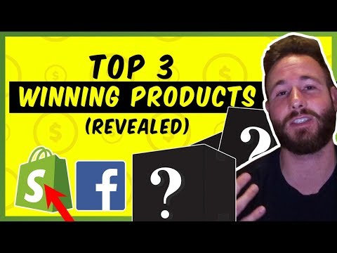 Top 3 Winning Products | Shopify Dropshipping 2019 thumbnail