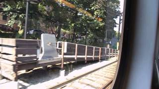 MBTA HD: Riding Type 8 LRV On The Green Line From Newton Centre to Haymarket