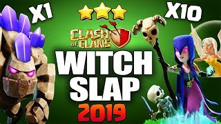 WitchSlap GoWiWi TH9 | The Perfect War | TH9 SUPER STRONG WAR ATTACK STRATEGY Clash of Clans