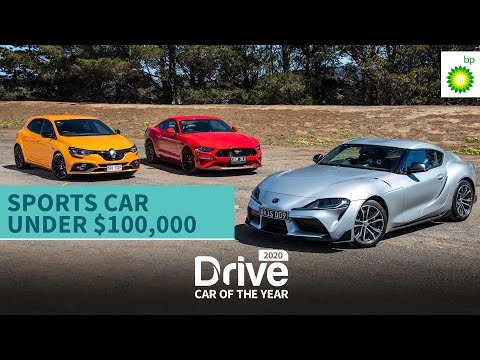 2020 Sports Car Under 100k: Toyota Supra, Ford Mustang, Renault Megane RS | Drive Car Of The Year