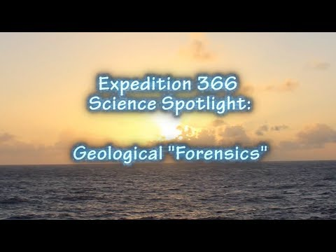 "Spotlight on Geological ""Forensics"""