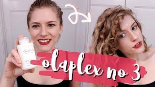 olaplex no 3 hair perfector | first test!!