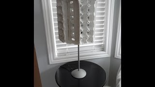 How to make an egg carton lamp - OWIMO Design Upcycling Thumbnail