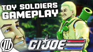 Toy Soldiers War Chest Gameplay: G.I. Joe V.S. COBRA - 1080p