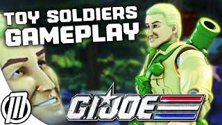 Toy Soldiers War Chest Gameplay: G.I. Joe V.S. COBRA - 1080p