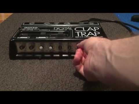 Simmons Digital Clap Trap -  Vintage Clap Machine For Sale On Ebay