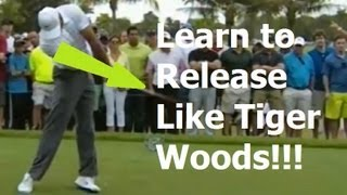 Learn The Golf Release Today: Tiger Woods Swing Review (2013 Doral Champion)