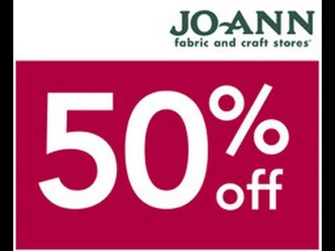 Get Your Joann Coupon Code - Watch Video