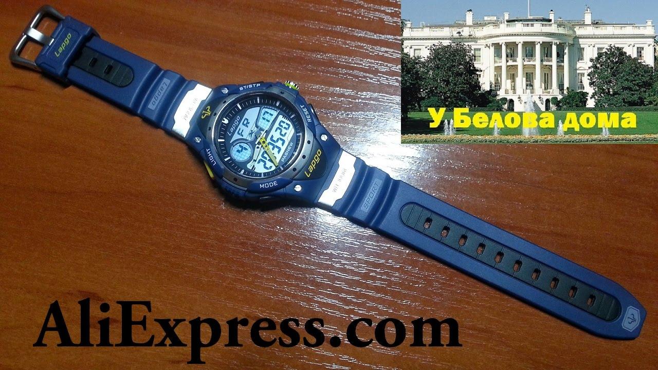 """Распаковка. Спортивные часы для дайвинга """"Pasnew PLG-388AD ..."""