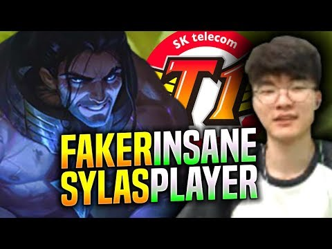 FAKER IS INSANE WITH SYLAS! - SKT T1 Faker Plays Sylas vs Galio Mid! | S9 KR SoloQ Patch 9.18