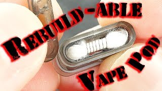Another Rebuildable Vape Pod! The EXiLiS By Snow Wolf!