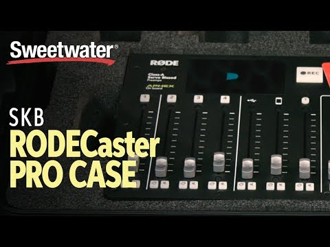 SKB iSeries RODECaster Pro Podcast Mixer Case Overview