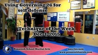 Penacook School Martial Arts/Double Collar Grab Defense