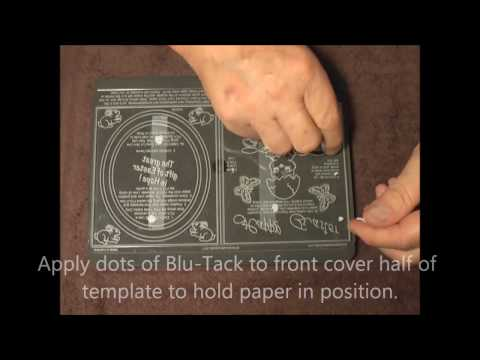Parchment Craft -PCA 67 TP7150EC Inside Outside Easter Babes card demo