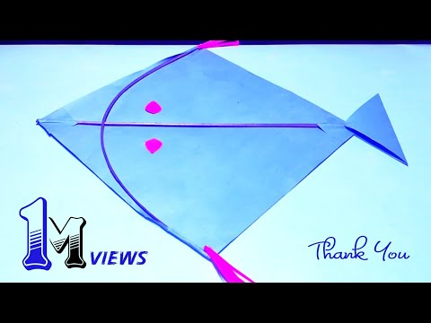 Kite Making | How to make kite at home by 360 DIY