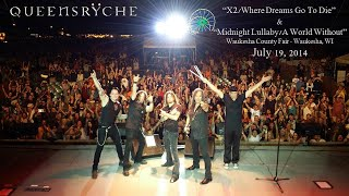 "Queensrÿche ""X2/Where Dreams Go To Die"" & ""Midnight Lullaby/A World Without"" Waukesha, WI 7/19/14"