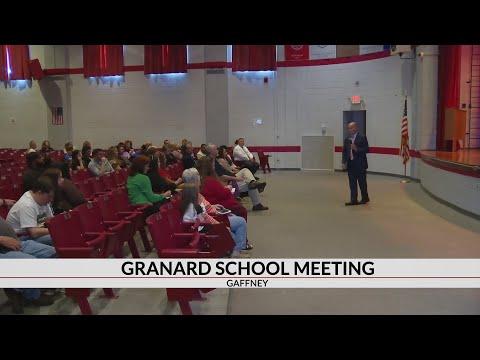 Granard Middle School closing forum