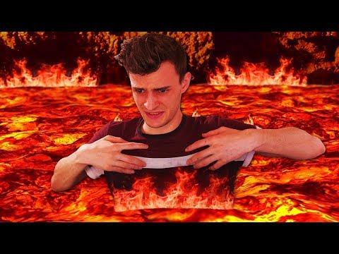 THE FLOOR IS LAVA... AGAIN!! (Hot Lava Game #2)