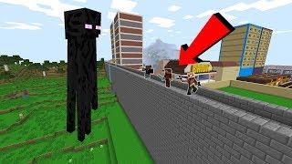 DEV ENDERMAN ŞEHRE SALDIRIYOR! 😱 - Minecraft