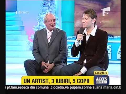 Nelu Balasoiu cu fiul sau Ionut la Acces Direct