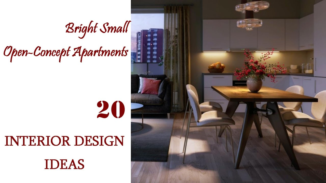 Bright Small Open Concept Apartments | Interior Design Ideas #20