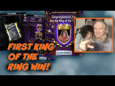 First King of the Ring Win! : WWE SuperCard S4 Ep6